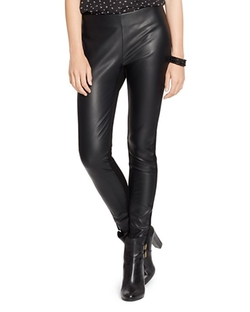 Ralph Lauren - Faux Leather Leggings