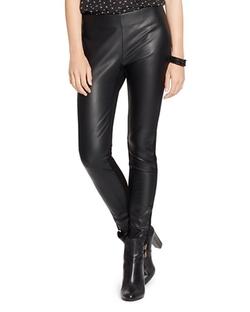 Ralph Lauren - Faux Leather Leggings