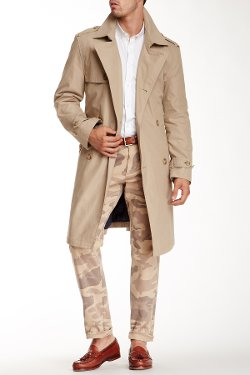 Hart Schaffner Marx  - Parnell Belted Trench Coat
