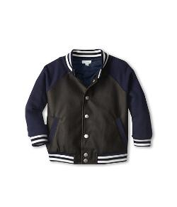 Le Top  - Rookie Of The Year Faux Leather Letterman Jacket