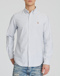 Polo Ralph Lauren  - Multi-Striped Oxford Shirt