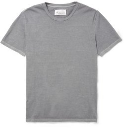 Maison Martin Margiela - Washed Cotton-Jersey T-Shirt