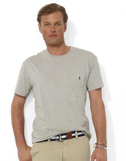 Polo Ralph Lauren  - Short-sleeved Pocket Crewneck T-shirt