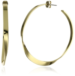 Jules Smith - Gold-Plated Hoop Earrings