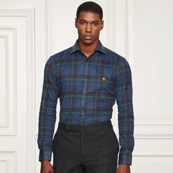 Ralph Lauren - Aston Plaid Cotton Sport Shirt