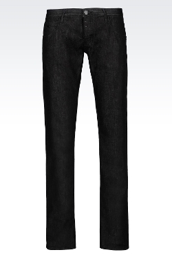 Emporio Armani - Slim Fit Dark Wash Jeans