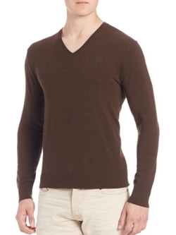 Polo Ralph Lauren  - Solid Wool-Blend Sweater