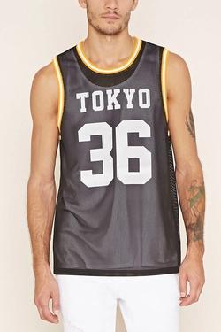 21Men - Tokyo 36 Athletic Mesh Tank