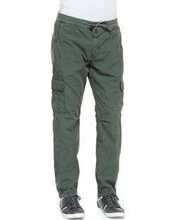 7 For All Mankind  - Weekend Cargo Pants, Green