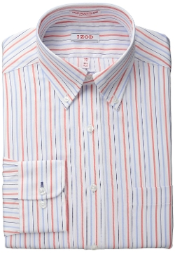 Izod - Slim Fit Multi Stripe Shirt