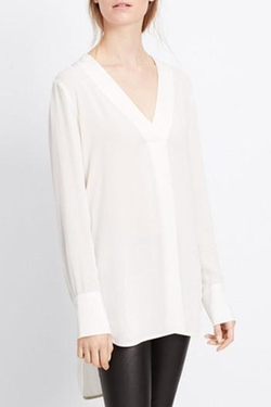 Vince - Crepe Tunic Top