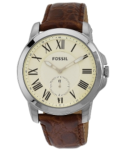 Fossil - Grant Slim Stainless Steel Watch
