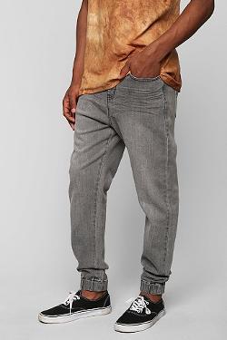 Urban Outfitters - Vanguard Zephyr Black Denim Jogger Pant