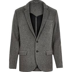 River Island - Knitted Jersey Slim Blazer