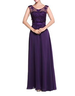 LoveBeauty - Chiffon Long Evening Dress
