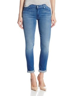 7 For All Mankind  - Skinny Crop Jeans