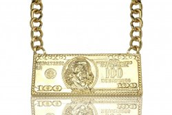 B2 by Benoit - 100 Dollar Bill Necklace