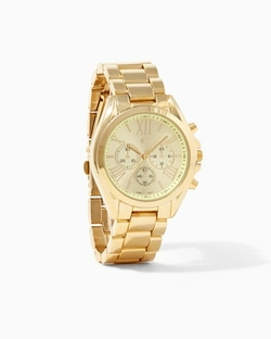 Charming Charlie - Clocking In Chronograph Watch