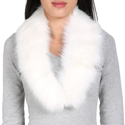 Finejo - Faux Fur Collar Scarf
