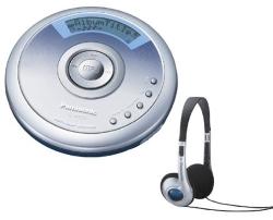 Panasonic - Portable CD/MP3 Player