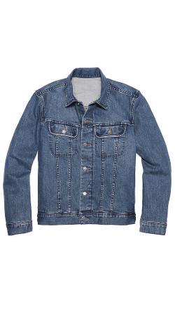 A.P.C.  - Washed Stretch New Denim Jacket