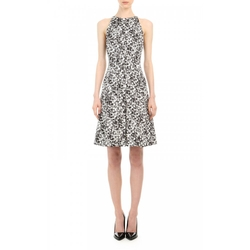 Jason Wu - Print Cotton Sateen Sleeveless Pleated Dress