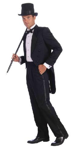 Forum Novelties Inc. - Forum Vintage Hollywood Tuxedo Tail Coat Costume