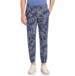 Polo Ralph Lauren - Tropical Print Slim-Fit Pants