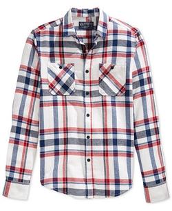 American Rag - Whiteground Flannel Shirt