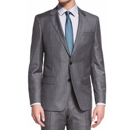 Boss Hugo Boss  - Huge Genius Slim-Fit Basic Sharkskin Suit
