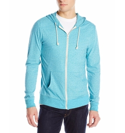 Threads 4 Thought - Triblend Jersey Zip Hoodie