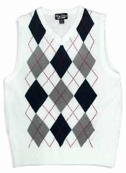 Blue Ocean - Argyle Sweater Vest