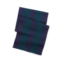 Polo Ralph Lauren - Schoolboy Striped Wool Scarf