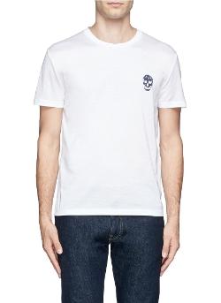 Alexander Mcqueen - Skull Logo Print T-Shirt