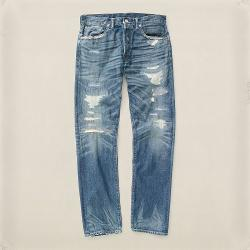 RRL  - Low-Straight Galveston Jean