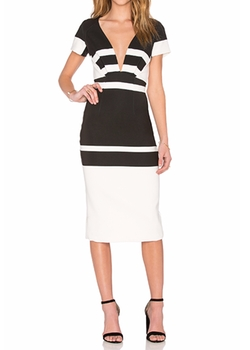 Johnny - Inverted Stripes Dress