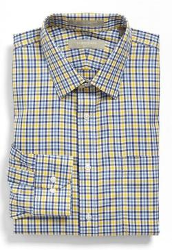 Nordstrom Smartcare - Wrinkle Free Trim Fit Plaid Dress Shirt