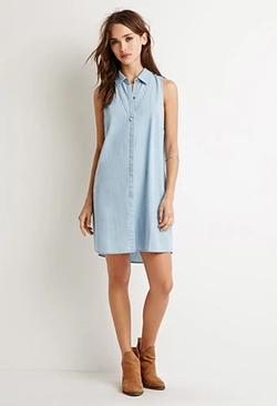 Forever 21 - Chambray Shirt Dress