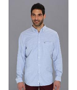 Lacoste  - Long Sleeve Button Down Oxford Woven Shirt