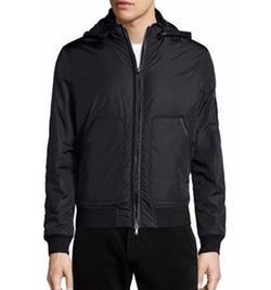 Michael Kors - Nylon Hooded Bomber Jacket