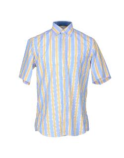 Liza  - Short Sleeve Striped Shirt