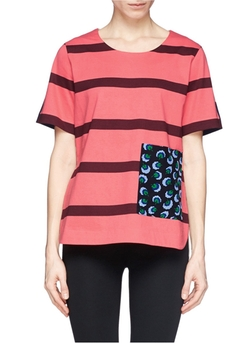 Stella Mccartney - Contrast Back Stripe T-Shirt