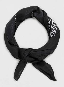 Topman - Black Paisley Bandana