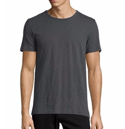 Vince - Short-Sleeve Slub Knit T-Shirt
