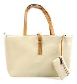 Sun Glory - Candy PU Leather Tote Bag