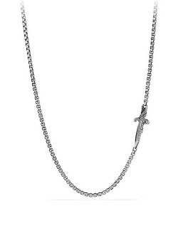 David Yurman  - Waves Dagger Station Necklace