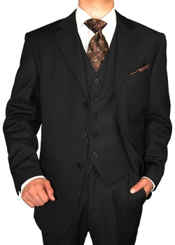 Gino Valentino - Three Piece Stripe Suit