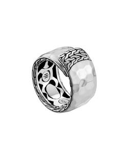 John Hardy - Palu Silver Overlap Band Ring