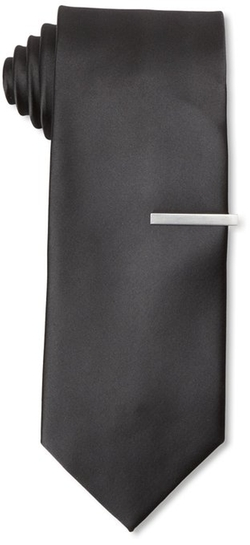 Little Black Tie - Solid Necktie