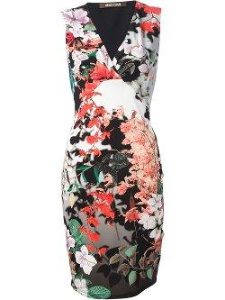 Roberto Cavalli  - Floral Print Dress